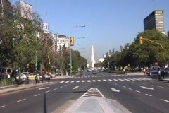 Buenos Aires Traffic Timelapse Stock Footage