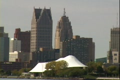 Detroit 02 Stock Footage