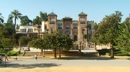 Stock Video Footage of Museo de Artes y Costumbres Populares, Seville, Spain