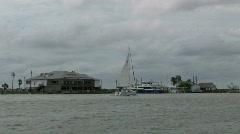 Sailboat Corpus M HD Stock Footage