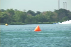 Hydroplane 01 Stock Footage