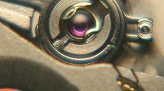 Mechanical Watch Internals Mechanisms Macro Footage Stock Footage