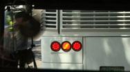 Bus's Blinker Stock Footage