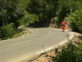 Stock Video Footage of Bicycle in mediterranean landscape