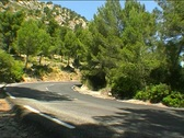 Stock Video Footage of Bicycle in mediterranean landscape 2