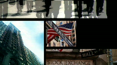 Montage Business People & Technology Stock Footage