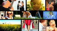 Healthy Lifestyles montage Stock Footage