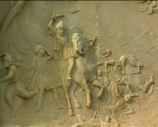Relief Jaume 1, Conquest of Majorca, 2 Stock Footage
