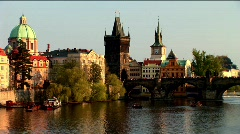 Postcards from Prague - stock footage