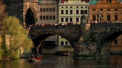Postcards from Prague Stock Footage