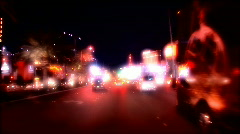 The Strip in Las Vegas Stock Footage