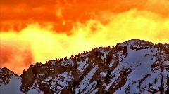 Cloud Peaks Stock Footage