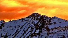 Cloud Peaks B Stock Footage