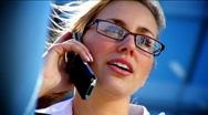 Businesswoman & Technology Stock Footage