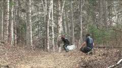 Paint Ball Game Stock Footage