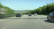 Stock Video Footage of German Autobahn - time lapse