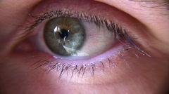 Eye closeup Stock Footage