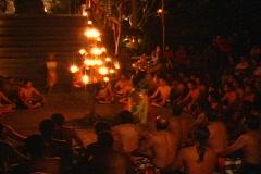 Bali Kecak 2 Stock Footage