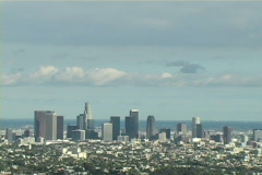 Los Angeles (zoom-out) Stock Footage