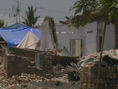 Stock Video Footage of Destroyed house in earthquake 1