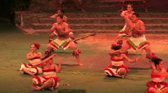 Hawaii polynesian culture dance close M HD - stock footage
