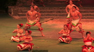 Hawaii polynesian culture dance close M HD Stock Footage