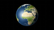 Stock Video Footage of Earth Grid Globe