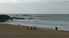 Hawaii Waimea Bay beach M HD Stock Footage