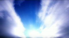 Cloud FX 112 - HD 1080p Stock Footage
