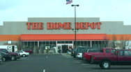 Stock Video Footage of Home Depot