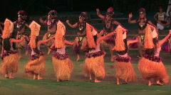 Hawaii polynesian Tahitian dance M HD Stock Footage