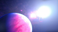 Stock Video Footage of alien planet beautiful