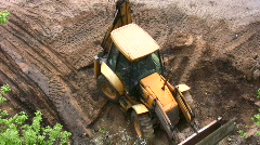 bulldozer - stock footage