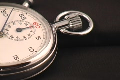 Stop watch 1 Stock Footage