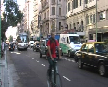 Buenos Aires traffic Stock Footage