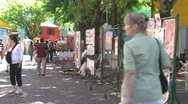 Stock Video Footage of Visitors at La Boca (Buenos Aires)