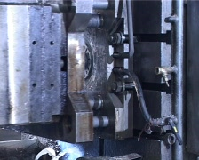 Metal casting.mov Stock Footage