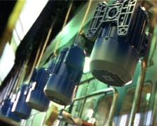 Motor painting room 3.mov - stock footage