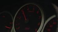 Stock Video Footage of Speedometer