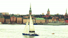 Stockholm Old Town Stock Footage