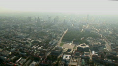 Warsaw aerial 2.mov Stock Footage