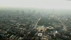 Warsaw aerial 2.mov Stock Footage