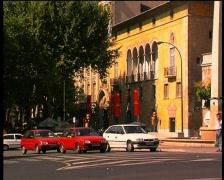 Palma de Mallorca - City traffic Stock Footage