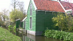 Typical old dutch living Stock Footage