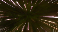 Jm310-Star Tree Streaks Stock Footage