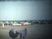 50s drag races 3 Stock Footage