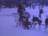 Stock Video Footage of SANTA'S SLEIGH