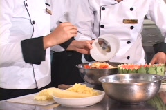 Culinary - Fruit Salad Stock Footage