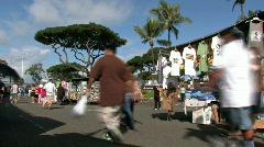 Aloha Swap Honolulu meet FAST M HD Stock Footage