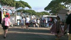 Honolulu swap meet M HD Stock Footage